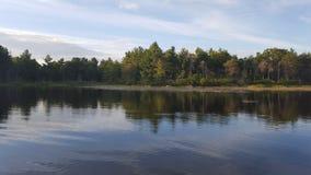 Life on the lake. Enjoying the lake at the cottage Stock Image