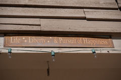 Life Liberty & Pursuit of Happiness Royalty Free Stock Images