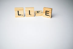 Life or lie Stock Photo
