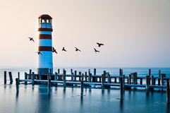 Life at Lighthouse Stock Photography