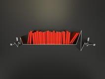 Life Line Shelf Stock Images