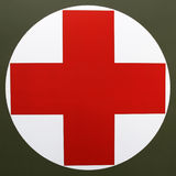 Life Logo, the Red Cross. Red Cross is always human life's hope Stock Photos