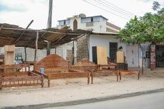 Life in Malindi Stock Image