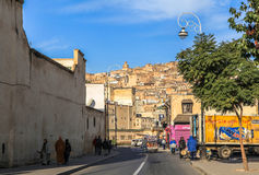Life in Medina of Fez in Morocco Stock Photos