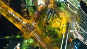 Timelapse, The Life of Megapolis at an Accelerated Tempo stock footage