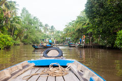 Life on Mekong Delta Royalty Free Stock Photos