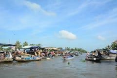 Life in Mekong Delta, Vietnam Stock Photo