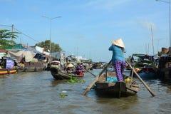 Life in Mekong Delta, Vietnam Royalty Free Stock Photos