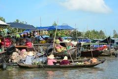 Life in Mekong Delta, Vietnam Stock Image