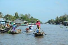 Life in Mekong Delta, Vietnam Stock Images