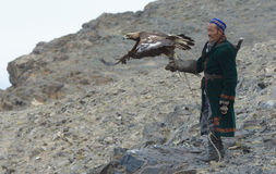 Life of the Mongolian eagle hunter 17 Stock Photo