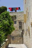 Life in the Old City Jerusalem Israel. Just another day Royalty Free Stock Photos