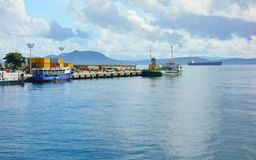 Port of Surigao Stock Photo