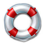 Life preserver belt symbol isolated Stock Photos
