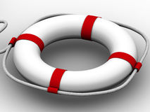 Life preserver for first help Royalty Free Stock Photo