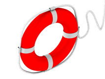 Life preserver for first help royalty free illustration