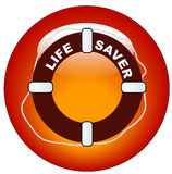 Life preserver icon Royalty Free Stock Image