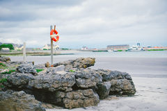 Life Preserver Ring, Aran Islands, Ireland. A photo of a life preserver ring in Aran Islands, Ireland Stock Images