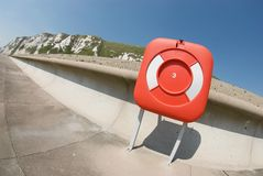 Life Preserver at Samphire Hoe, Dover Royalty Free Stock Photography