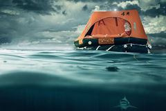 Life raft Stock Photos