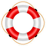 Life raft illustration Stock Image