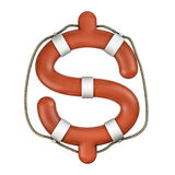 Life ring dollar Stock Images