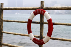 Life ring - for decoration only Royalty Free Stock Photos