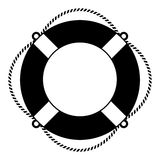 Life ring illustration Stock Photography