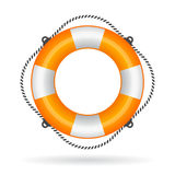 Life ring illustration Royalty Free Stock Photography