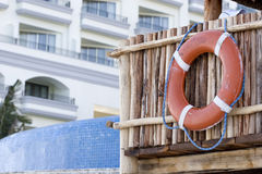 Life Ring at Resort Royalty Free Stock Image