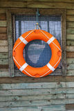 Life Ring, symbol for water sports and water safety. Royalty Free Stock Photos