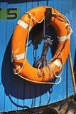 Life-saver on a ship Royalty Free Stock Photo
