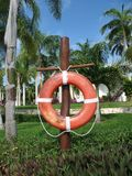 Life saving buoy Stock Photo