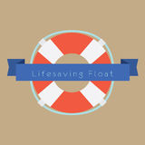 Life Saving Float Ring Royalty Free Stock Images