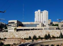 Life saving health organizations in Jerusalem. Magen David Adom and United Hatzalah Royalty Free Stock Photography