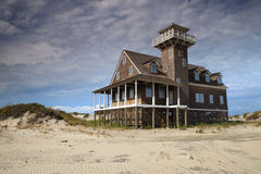 Life Saving Station Hatteras North Carolina Royalty Free Stock Images