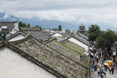 Life scenery on Dali ancient town Stock Images