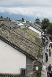 Life scenery on Dali ancient town Royalty Free Stock Image