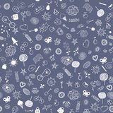 Life seamless pattern Stock Image