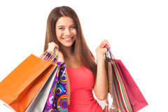 Life is shopping! Stock Photos