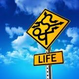 Life sign stock photo