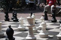 Life Size Chess Royalty Free Stock Image
