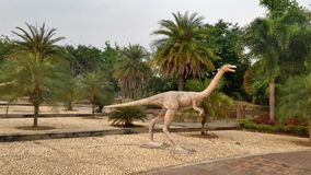 Life size replicss of Dinosaur display at Si Wiang Park , Thailand Royalty Free Stock Photography
