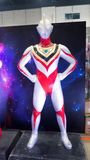 Life size of Ultraman GAIA model is the third Ultra being of Tsuburaya Productions, displaying at Japan festival. BANGKOK, THAILAND. – On September stock photos