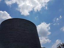 Life. Sky blue restructure texture nature cielo nubes paz libre nubes azul publicidad Stock Photography
