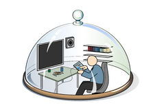 Life sphere Stock Image