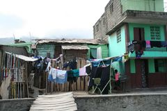 Life on the streets in Cap Haitian, Haiti Stock Photography