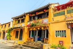 Life streets at Hoi An Royalty Free Stock Photos