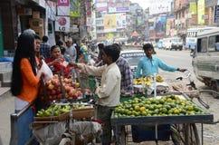 Life on the streets of Kathmandu Royalty Free Stock Photo