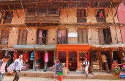 Life style in kathmandu nepal Stock Photos